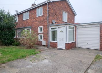 Thumbnail 3 bed semi-detached house for sale in Ringway, Choppington