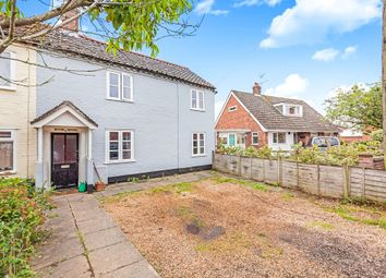 Thumbnail 3 bed end terrace house for sale in Norwich Road, Chedgrave, Norwich