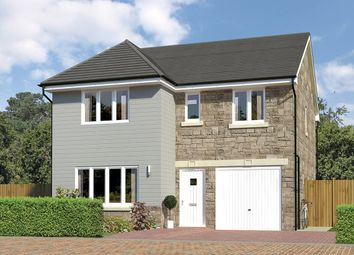 Thumbnail 4 bed detached house for sale in Dukeswood, Calderwood, East Calder, Livingston