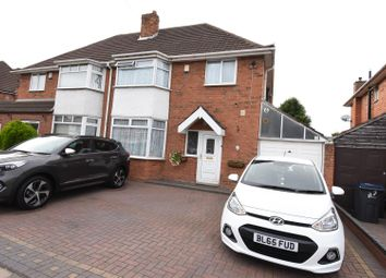 Thumbnail 3 bed semi-detached house for sale in Collingbourne Avenue, Hodge Hill, Birmingham