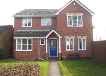 Thumbnail 4 bed detached house for sale in Forest View, Henllys, Cwmbran