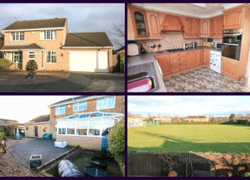 Thumbnail 4 bed detached house for sale in Stretton Close, Cantley, Doncaster