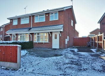 Thumbnail 3 bed semi-detached house for sale in Lansdowne Road, Crewe