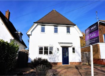 Thumbnail 3 bed detached house for sale in Cambridge Road, Hitchin