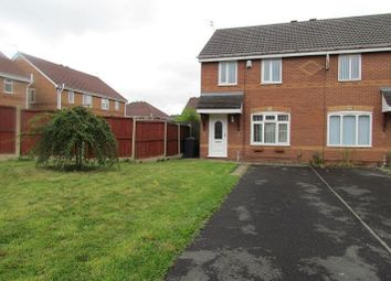 Thumbnail 3 bed semi-detached house to rent in Rotherham Close, Huyton, Liverpool