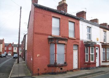 Thumbnail 2 bedroom terraced house for sale in Webster Road, Liverpool