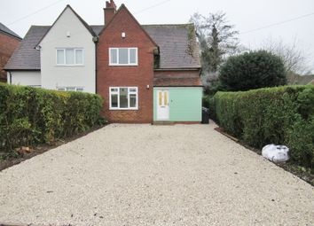 Thumbnail 3 bed semi-detached house to rent in Rednal Hill Lane, Rubery, Birmingham
