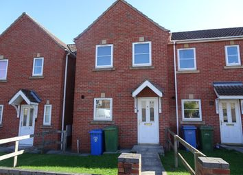 Thumbnail 2 bed town house to rent in Church Street, Langold, Worksop