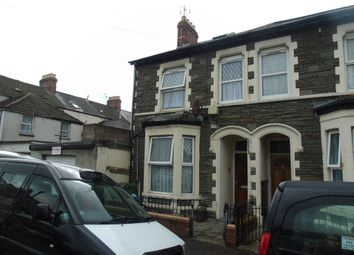 Thumbnail 3 bed end terrace house for sale in Stephenson Street, Cardiff