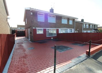 Thumbnail 3 bed semi-detached house for sale in Court Gardens, Rogerstone, Newport
