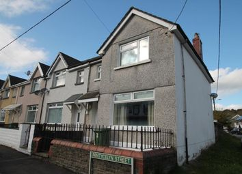 Thumbnail 3 bed end terrace house for sale in Pantycelyn Street, Hengoed, Ystrad Mynach, Caerphilly Borough