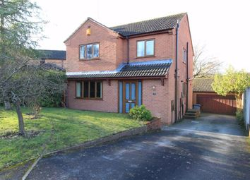 Thumbnail 4 bed detached house for sale in Chatsworth Close, Ravenshead, Nottingham