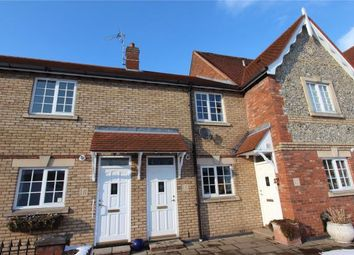 Thumbnail 2 bed terraced house for sale in Cornmill Court, West Road, Saffron Walden, Essex