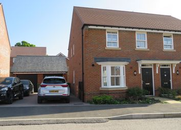 Thumbnail 3 bed semi-detached house to rent in Pakenham Road, Waterlooville