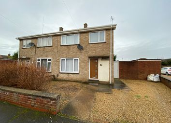 Thumbnail 3 bed semi-detached house for sale in Laburnum Close, Walsoken, Wisbech