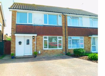 Thumbnail 3 bed semi-detached house for sale in Ophir Road, Worthing