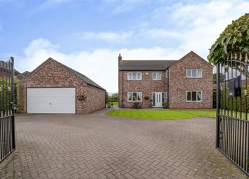 Thumbnail 4 bed detached house for sale in West Moor Road, Walkeringham, Doncaster