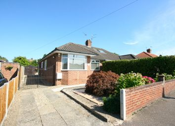 Thumbnail 3 bed semi-detached bungalow to rent in Gorse Road, Thorpe St. Andrew, Norwich