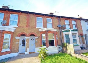 Thumbnail 3 bed terraced house for sale in Folkestone Road, Dover, Kent