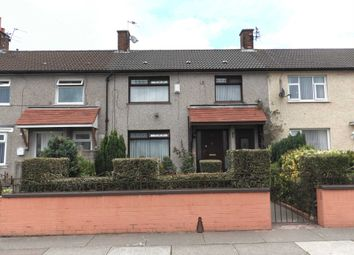 Thumbnail 3 bed terraced house for sale in Bolton Avenue, Kirkby, Liverpool