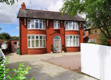 Thumbnail 4 bed detached house for sale in Lea Road, Lea, Preston