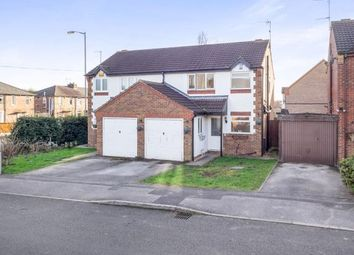 Thumbnail 3 bedroom semi-detached house for sale in Lawrence Avenue, Colwick, Nottingham, Nottinghamshire