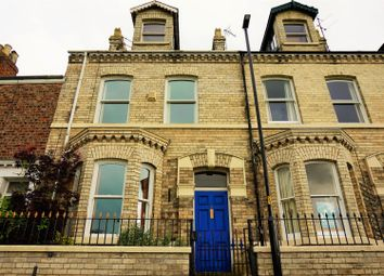 Thumbnail 4 bedroom terraced house for sale in The Green, York
