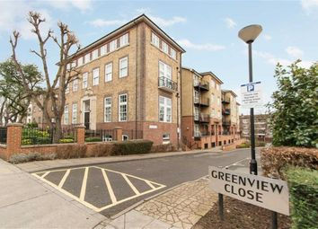 Thumbnail 1 bed flat for sale in Greenview Close, London