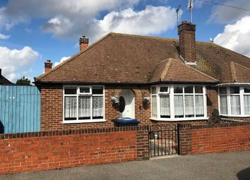 Thumbnail 2 bedroom semi-detached bungalow for sale in Granville Avenue, Ramsgate, Kent