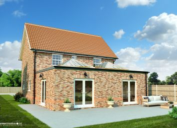Thumbnail 4 bed detached house for sale in Northfields Lane, Westfield, Dereham