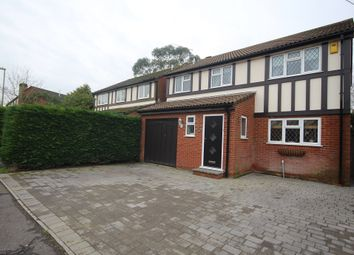 Thumbnail 4 bed detached house for sale in Swan Mead, Ringwood