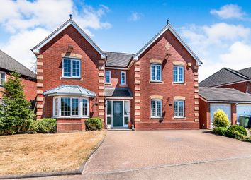 Thumbnail 4 bed detached house to rent in Bentley Close, Stone