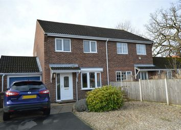 Thumbnail 3 bedroom semi-detached house for sale in St Edmunds Close, Lower Hellesdon, Norwich