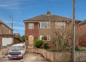 Thumbnail 3 bed semi-detached house for sale in Woodside Avenue, Cinderford, Gloucestershire