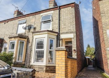Thumbnail 3 bed end terrace house for sale in Scotney Street, Peterborough