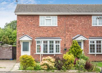 Thumbnail 3 bed semi-detached house for sale in Peregrine Way, Kessingland, Lowestoft