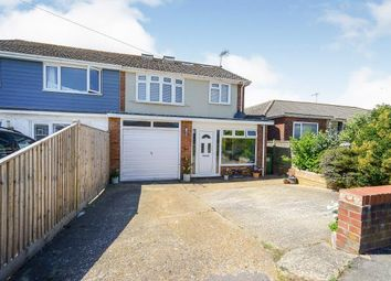Thumbnail 4 bed semi-detached house for sale in Phyllis Avenue, Peacehaven, East Sussex, .