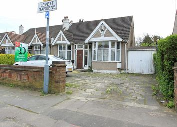 Thumbnail 2 bedroom semi-detached bungalow for sale in Levett Gardens, Ilford, Essex
