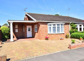 Thumbnail 2 bed semi-detached bungalow for sale in Blandford Gardens, Sittingbourne, Kent