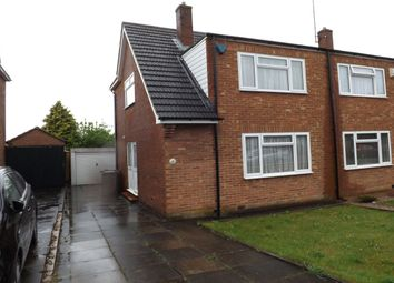 Thumbnail 3 bed semi-detached house to rent in Shakespeare Road, Luton