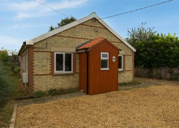 Thumbnail 3 bedroom detached bungalow for sale in Bury Road, Mildenhall, Bury St Edmunds, Suffolk
