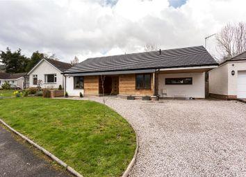 Thumbnail 2 bedroom bungalow for sale in Murdiston Avenue, Callander, Stirlingshire
