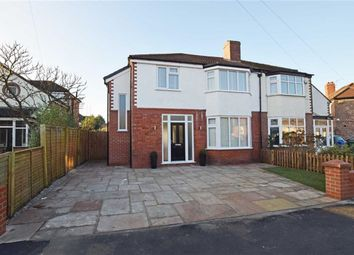 Thumbnail 4 bed semi-detached house for sale in Fairlea Avenue, Didsbury, Manchester