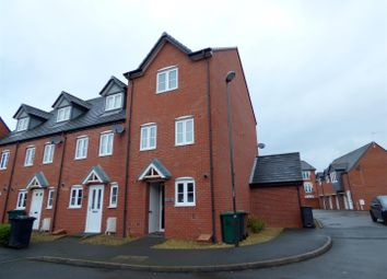 Thumbnail 4 bedroom town house to rent in Dee Close, Hilton, Derby