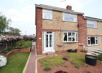Thumbnail 3 bed semi-detached house for sale in Newsam Road, Kilnhurst, Mexborough