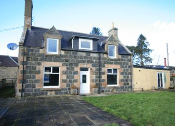 Thumbnail 3 bedroom detached house for sale in Knock, Huntly