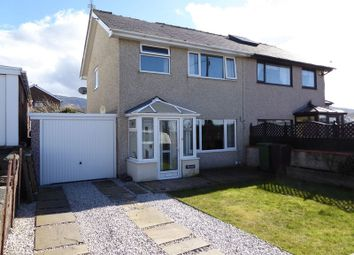 Thumbnail 3 bed semi-detached house for sale in Coetmor Road, Bethesda, Bangor