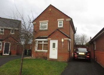 Thumbnail 3 bed detached house for sale in Stradbroke Close, Lowton, Warrington