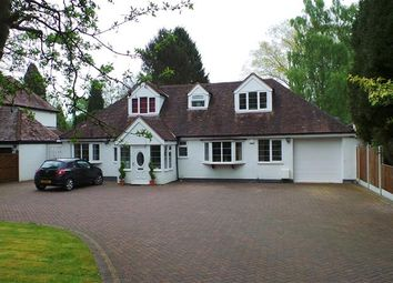 Thumbnail 5 bedroom detached bungalow for sale in Rosemary Hill Road, Four Oaks, Sutton Coldfield