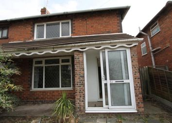 Thumbnail 3 bed end terrace house to rent in Green Lane, Leamore, Walsall